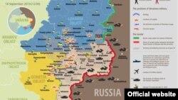Ситуація в зоні бойових дій на Донбасі 18 вересня