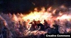 Ночное нападение войск Влада Цепеша на османский лагерь под Тырговиште (1462)