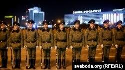 Рэпэтыцыя вайсковага параду ў Менску. Ілюстрацыйнае фота