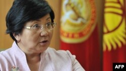 Kyrgyz President Roza Otunbaeva announced that parliamentary elections will be held in October.