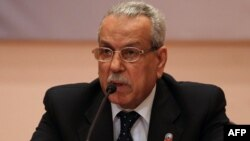 Electoral commission chief Faruq Sultan announced the results at a press conference in Cairo on May 28.