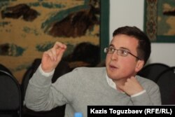 Эндрю Смит, эксперт правозащитной организации «Артикль 19». Алматы, 14 декабря 2012 года.