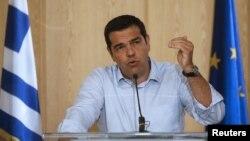 Лідэр партыі СІРЫЗА Алексіс Цыпрас