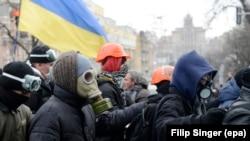 Киевта протест чаралары