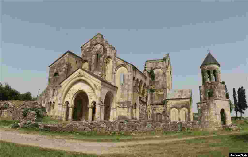 The cathedral had effectively been in ruins before the latest restoration work began in 2009.