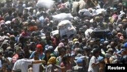 Refugjatët sirianë në Akcakale të Turqisë