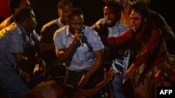 اجرای کندریک لمار در مراسم گرمی ۲۰۱۶