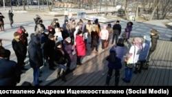 Митинг во Владивостоке, архивное фото