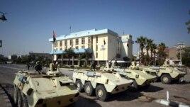 Vojska na ulicama Sueza