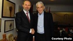 Средба на градоначалникот на Град Скопје, Коце Трајановски со Јанис Бутарис градоначалник на Солун.