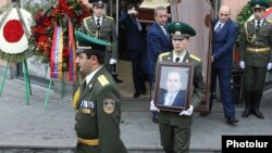 Armenia -- The funeral of former National Security Service Director Georgi Kutoyan, Yerevan, January 20, 2020.
