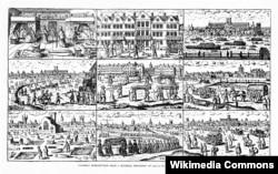 """""""Сцены Лондона времен чумы"""". Иллюстрация из книги Уолтера Джорджа Белла """"Великая чума 1665 года в Лондоне"""", 1924"""