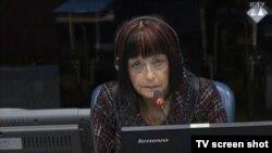 Zorica Subotić u sudnici 28. rujna 2015.