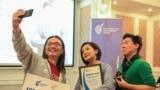 Ceremonies awarding winners a prize named Ulan Egizbaev, Kyrgyzstan, Bishkek, February 12, 2020