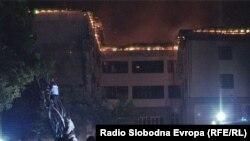 Požar u bolnici u Bihaću, 26.7.2013.