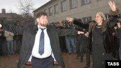Когда выборы праздник. Рамзан Кадыров после голосования в родном Центорое