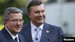 Януковіч і Камароўскі, Кіеў, ліпень 2012