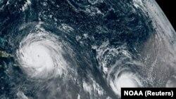 Ураган. Иллюстрационное фото