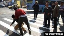 دعوای خیابانی در تهران