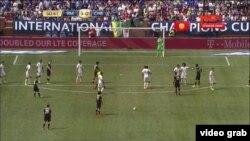 آرشیف، مسابقه فوتبال میان تیم های رئال مادرید و چلسی