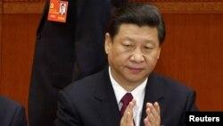 Қытай коммунистік партиясының жаңа басшысы Си Цзиньпин. Бейжің, 8 қараша 2012 жыл.