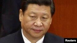 Қытай басшысы Си Цзиньпин. 8 қараша 2012 жыл.