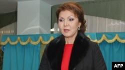 Қазақстан президенті Нұрсұлтан Назарбаевтың қызы, вице-премьер Дариға Назарбаева.