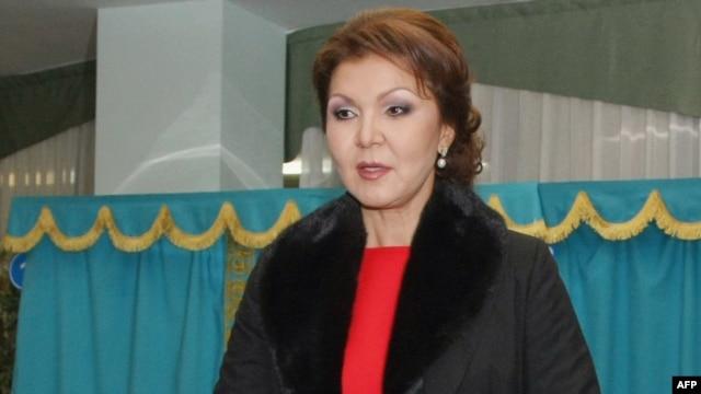 Дарига Назарбаева, старшая дочь президента Казахстана Нурсултана Назарбаева. Астана, 15 января 2012 года.