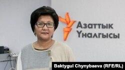 Таалайкуль Исакунова.