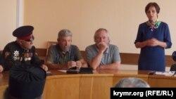 Участники заседания архитектурно-художественного совета в Севастополе, 24 мая 2018 года