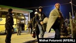 Միգրանտները Խորվաթիայի սահմանին, 18-ը հոկտեմբերի, 2015թ.