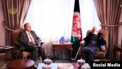 رئیس جمهور افغانستان در ملاقات دیروز با سرمفتش خاص امریکا