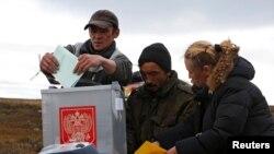 Досрочное голосование на Ямале