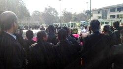گفتگوی حسن سعیدی،عضو سندیکای شرکت واحد تهران با روزبه کارونی در مورد تجمع رانندگان