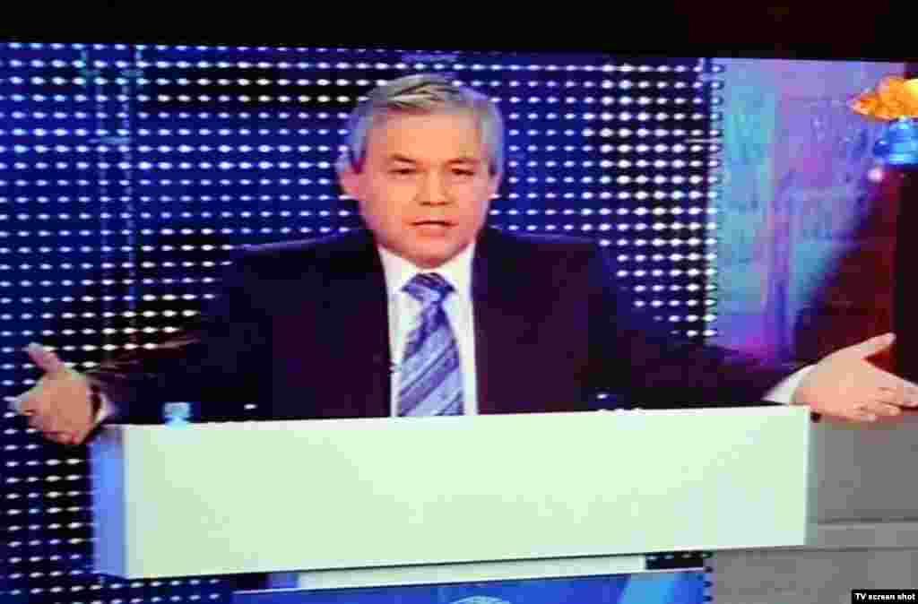 """Заместитель председателя пропрезидентской партии """"Адилет"""" Уалихан Кайсаро."""