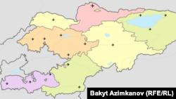 Кыргызстандагы аэропорттор.