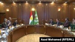 رئاسة برلمان كردستان تلتقي بقادة الإتحاد الوطني الكردستاني