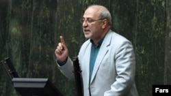 Hossen-Ali Haji Daligani, a member of Iran's hardliner-dominated parliament. File Photo