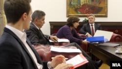 Претседателот Ѓорѓе Иванов на средба со Професорскиот и Студентски пленум.