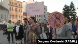Protest u Nišu. 11. oktobar