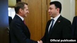Сергей Нарышкин (слева) и Эдуард Шармазанов (архивное фото)