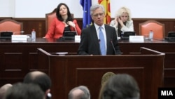 Обраќање на високиот претставник за национални малцинства во ОБСЕ, Кнут Волебек, пред собранискиот Комитет за односи меѓу заедниците.