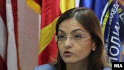 министерката за внатрешни работи Гордана Јанкуловска