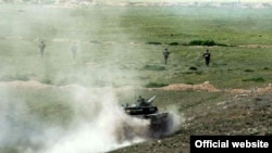 Armenia/Nagorno Karabakh - Karabakh Armenian forces hold military exercises, undated