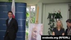 Амбасадар ЗША Лі Фэйнстэйн і Наталя Пінчук