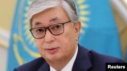 Касым-Жамарт Такаеў, абвешчаны пераможцам выбараў