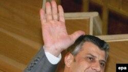 Kryeministri në dorëheqje, Hashim Thaçi (Foto arkiv).