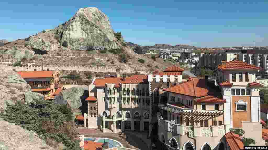Гора Сахарна Головка між Судаком і Генуезькою фортецею – популярне місце тренувань серед альпіністів-любителів