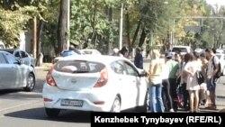 Жол апаты. Алматы, 26 қыркүйек 2013 жыл.