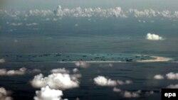 Veštački otoci koje je Kina izgradila u vodama Južnog kineskog mora